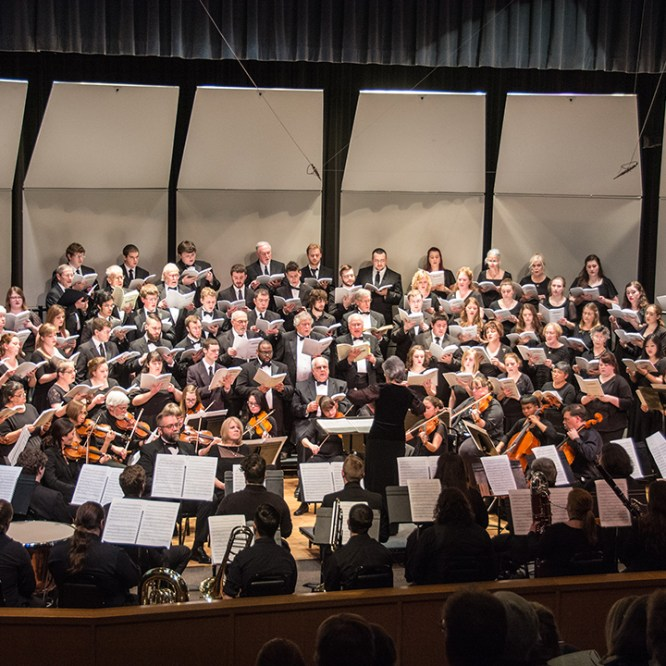 Festival Chorus to Present Two Major Works in Spring Concert
