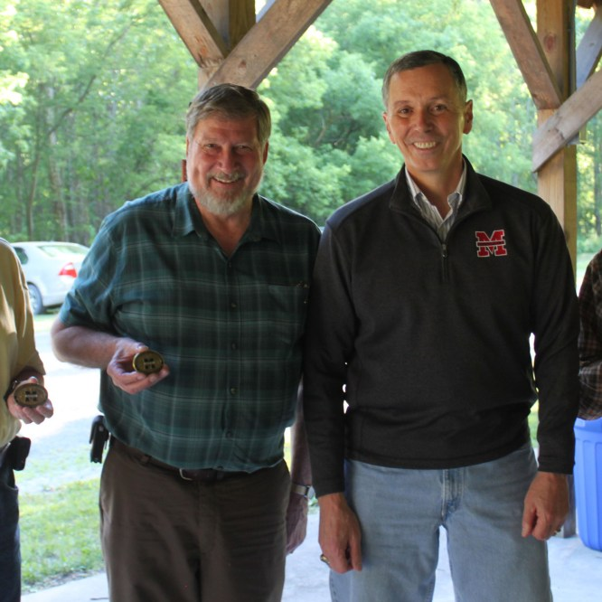 Mill Cove Board of Directors Awarded Presidential Coin for Excellence