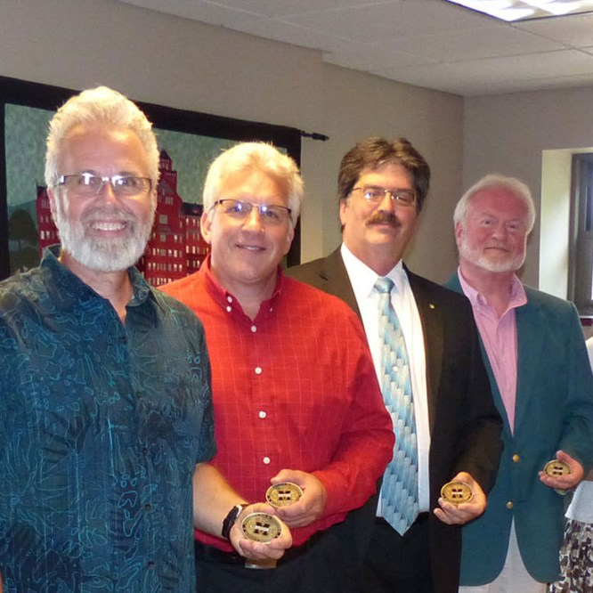 MAC Board Members Awarded MU Presidential Coin for Excellence