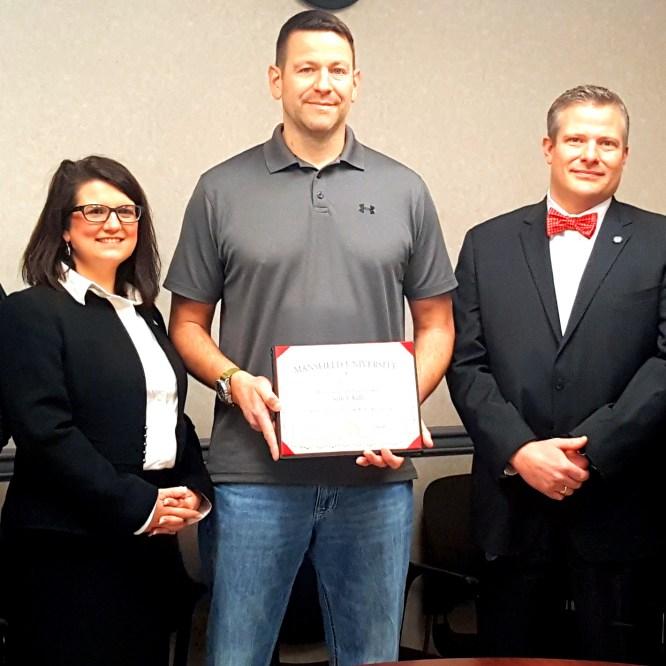 Mansfield University Honors State Trooper Seth Kelly '00