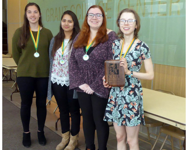 Mansfield Biology Students Excel at State Meeting