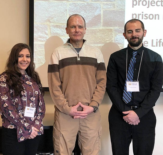 Mansfield CJA Students and Professor Present Project at State Conference