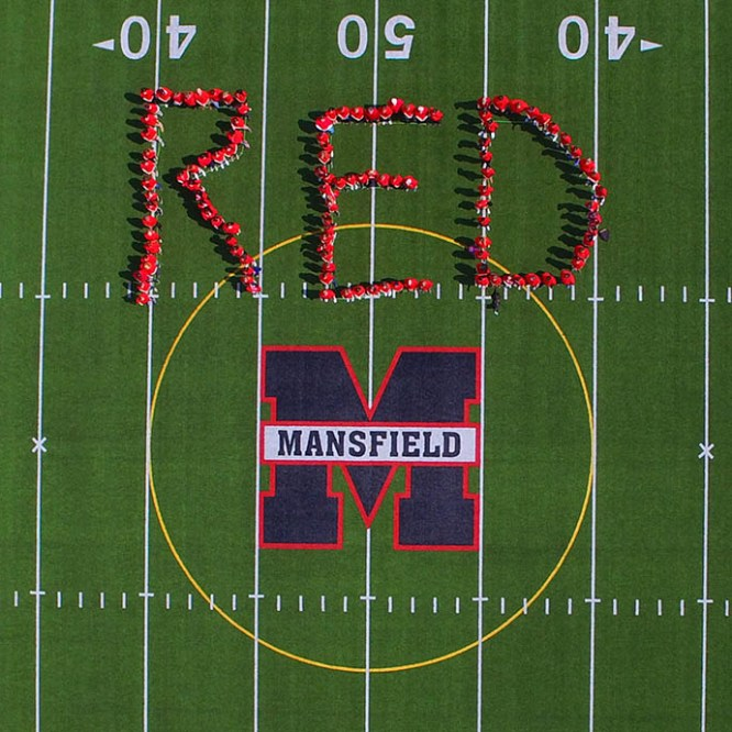 Mansfield University Turns R.E.D. to Support the Military