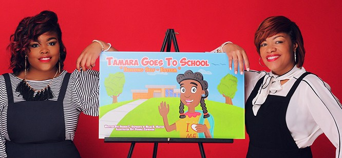 Mansfield Student and Mother Co-author Book for Children