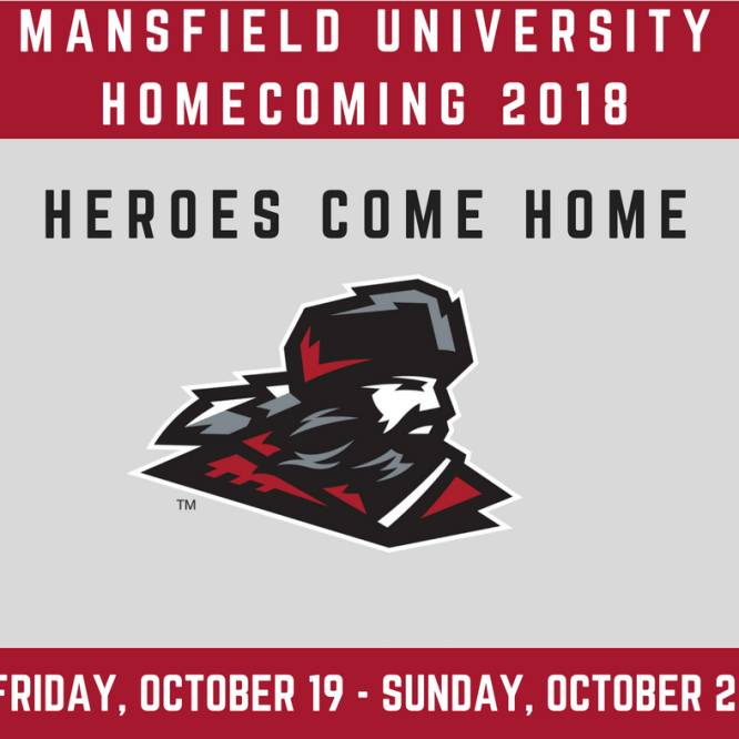 """Heroes Come Home"" Homecoming Weekend Set for October 19-21 at Mansfield University"