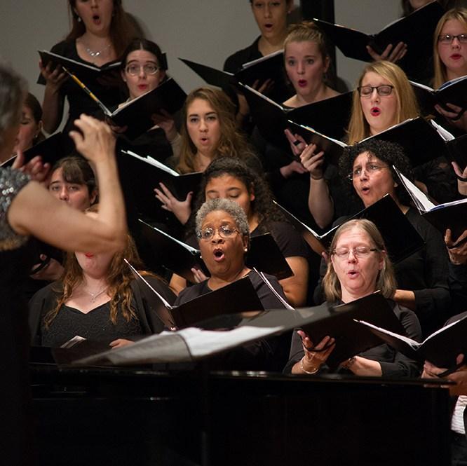 Community singer Invited to MU Festival Chorus