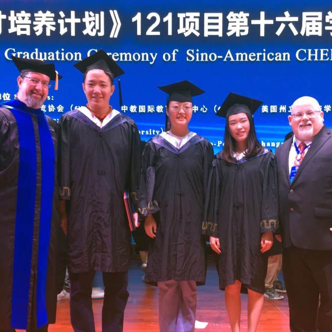 MU Representatives Attend China Conference and Graduation
