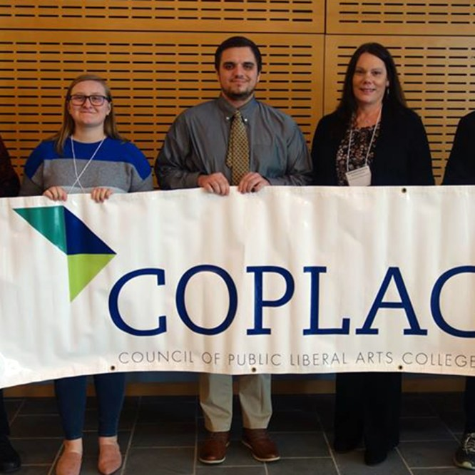 Four Mansfield University students present at COPLAC Northeast Regional Conference