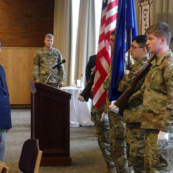 Mansfield University honors veterans at annual luncheon