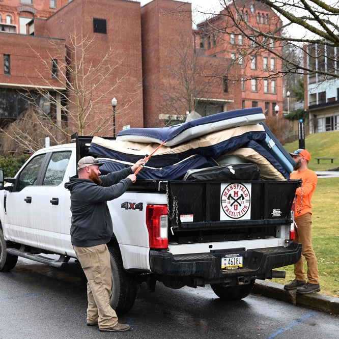 Mansfield University and UPMC Wellsboro collaborate for COVID-19 response