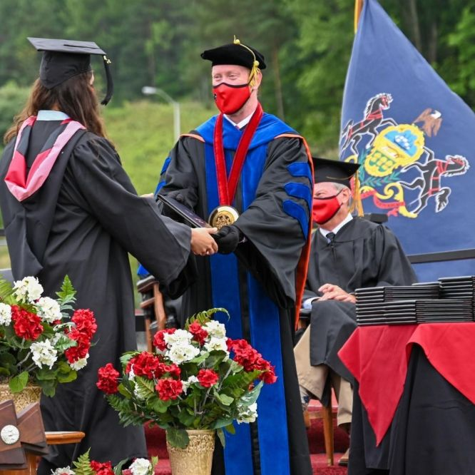 Mansfield University holds 155th Commencement for spring and summer graduates