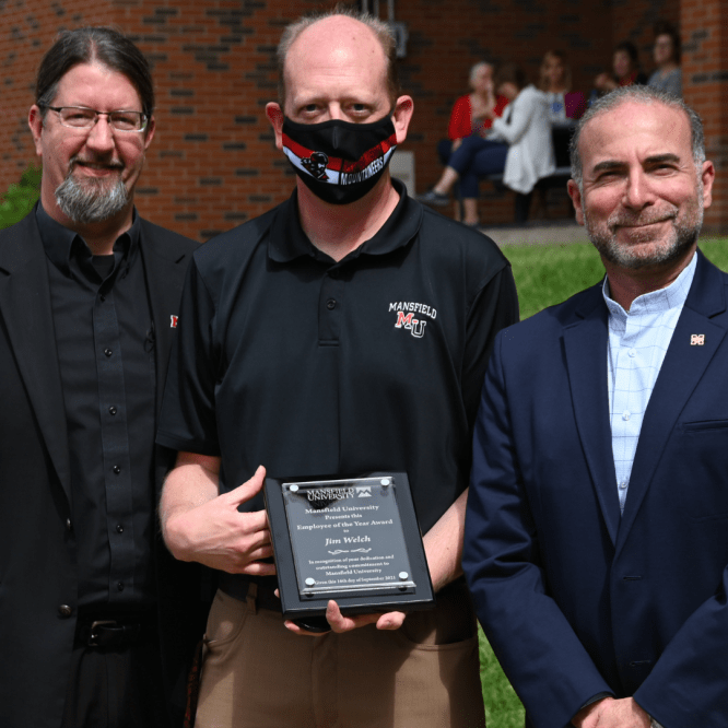 Mansfield University honors faculty and staff at Employee Service Recognition Celebration