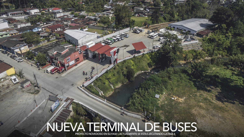 PANORÁMICA TERMINAL DE BUSES