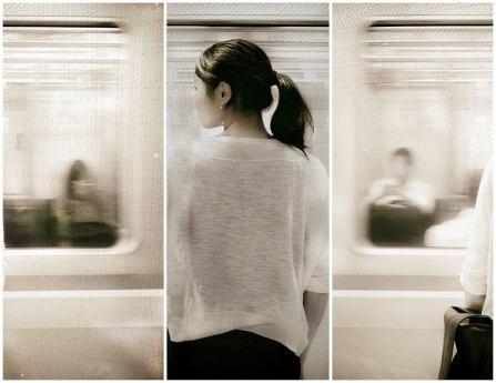 Munich Artists Dean Pasch - Day 9 - Girl at Subway