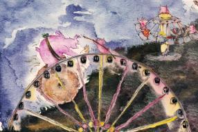 Munich Artists Michael Pitschke - Day 3 - Ferris Wheel