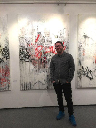 Artist Patrick Hartl