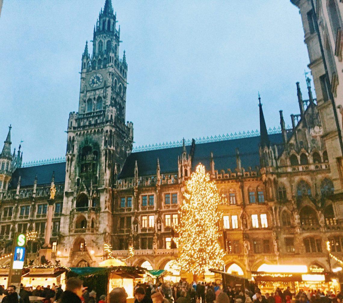 Munich Marienplatz Christmas Market