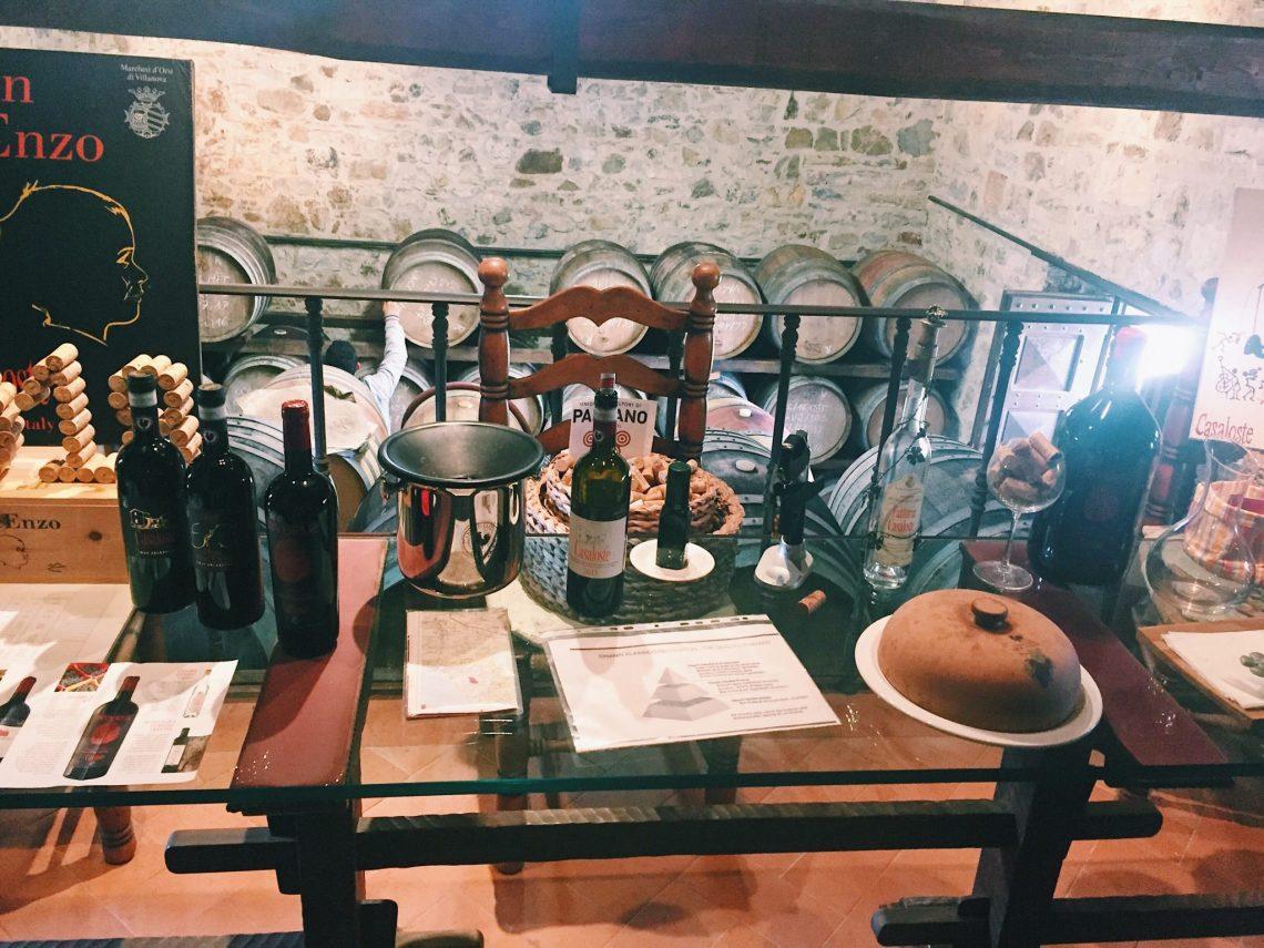 casaloste winery chianti italy