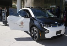 LAPD Lease BMW i3's