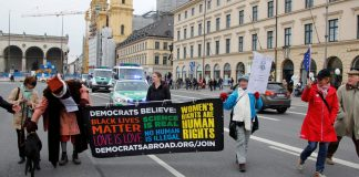 DA at the Munich March for Science -- munichFOTO