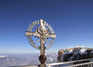Zugspitze is the tallest peak in Germany -- munichFOTO