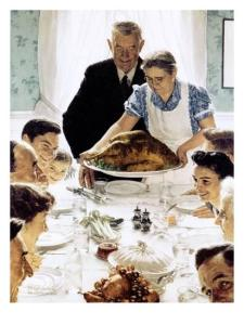 Freedom From Want - Norman Rockwell