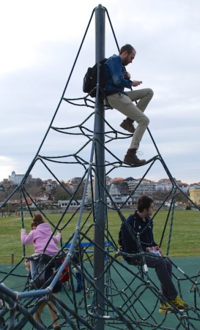 Big kids, baller playground (La Magdalena)