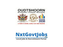 Oudtshoorn Local Municipality vacancies 2021 | Garden Route Government jobs | Western Cape Municipality vacancies