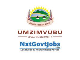 Umzimvubu Local Municipality vacancies 2021 | Alfred Nzo Government jobs | Eastern Cape Municipality vacancies