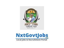 Great Kei Local Municipality vacancies 2021 | Amathole Government jobs | Eastern Cape Municipality vacancies