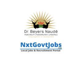 Dr Beyers Naudé Local Municipality vacancies 2021 | Sarah Baartman Government jobs | Eastern Cape Municipality vacancies