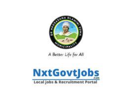 Dr Nkosazana Dlamini Zuma Local Municipality vacancies 2021 | Harry Gwala Government jobs | KwaZulu-Natal Municipality vacancies