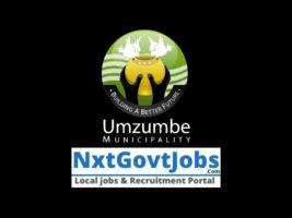 Umzumbe Local Municipality vacancies 2021   Ugu Government jobs   KwaZulu-Natal Municipality vacancies