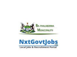 Ba-Phalaborwa Local Municipality vacancies 2021 | Mopani Government jobs | Limpopo Municipality vacancies