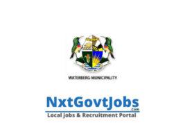 Waterberg District Municipality vacancies 2021 | Modimolle Government jobs | Limpopo Municipality vacancies