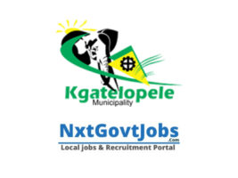 Kgatelopele Local Municipality vacancies 2021 | ZF Mgcawu Government jobs | Northern Cape Municipality vacancies