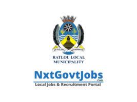 Ratlou Local Municipality vacancies 2021 | Ngaka Modiri Molema Government jobs | North West Municipality vacancies