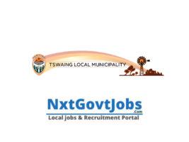 Tswaing Local Municipality vacancies 2021 | Ngaka Modiri Molema Government jobs | North West Municipality vacancies