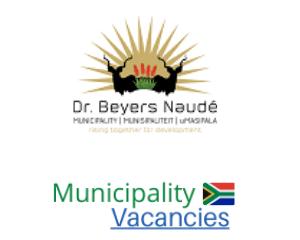Dr Beyers Naudé Local municipality vacancies 2021 | Dr Beyers Naudé Local vacancies | Eastern Cape Municipality