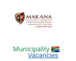 Makana Local municipality vacancies 2021 | Makana Local vacancies | Eastern Cape Municipality