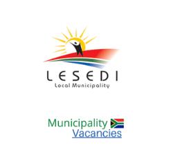Lesedi Local municipality vacancies 2021   Lesedi Local vacancies   Gauteng Municipality