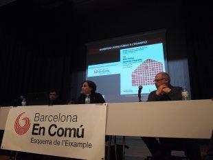Presentació de Barcelona en Comú a l'esquerra de l'eixample