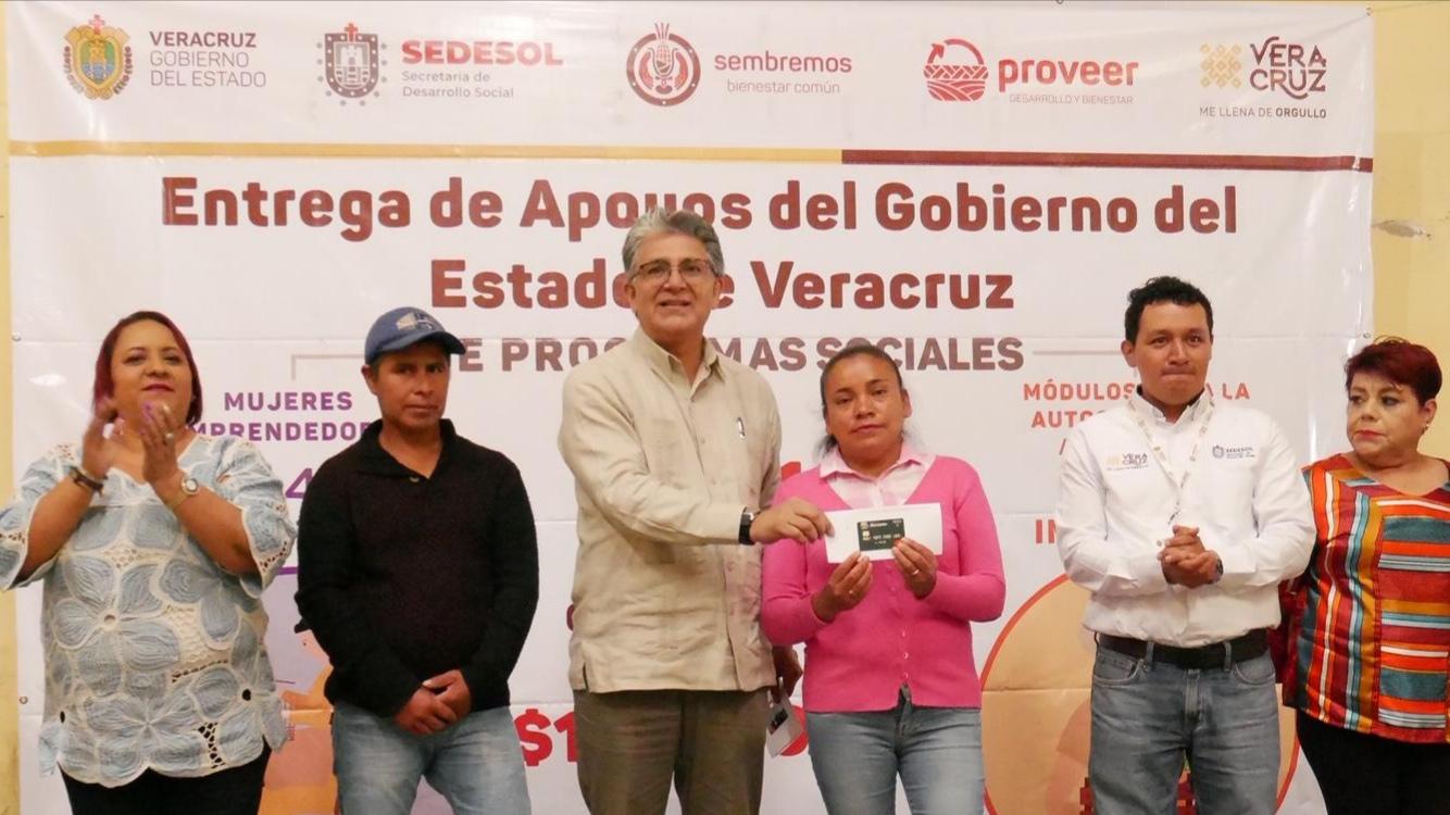 Municipiosur Combeneficia Sedesol Con 272 Acciones A Atzalan