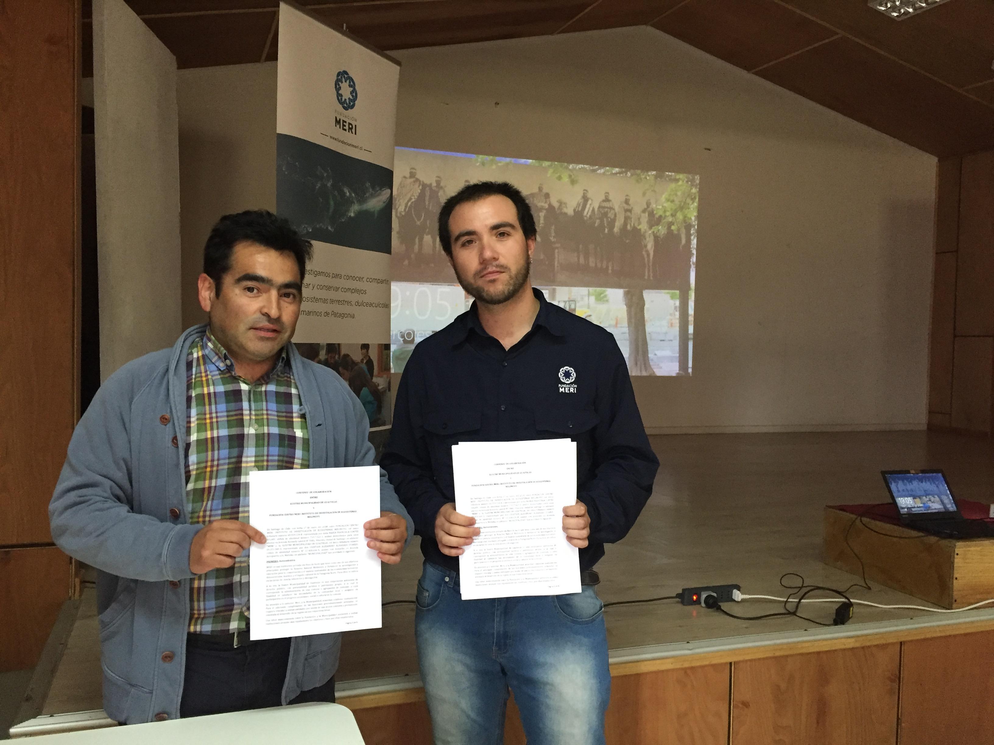 Firma Convenio Fundación Meri