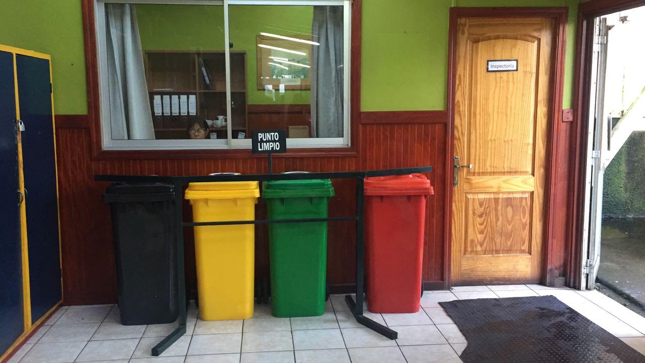 Punto Limpio Liceo Melinka 2018