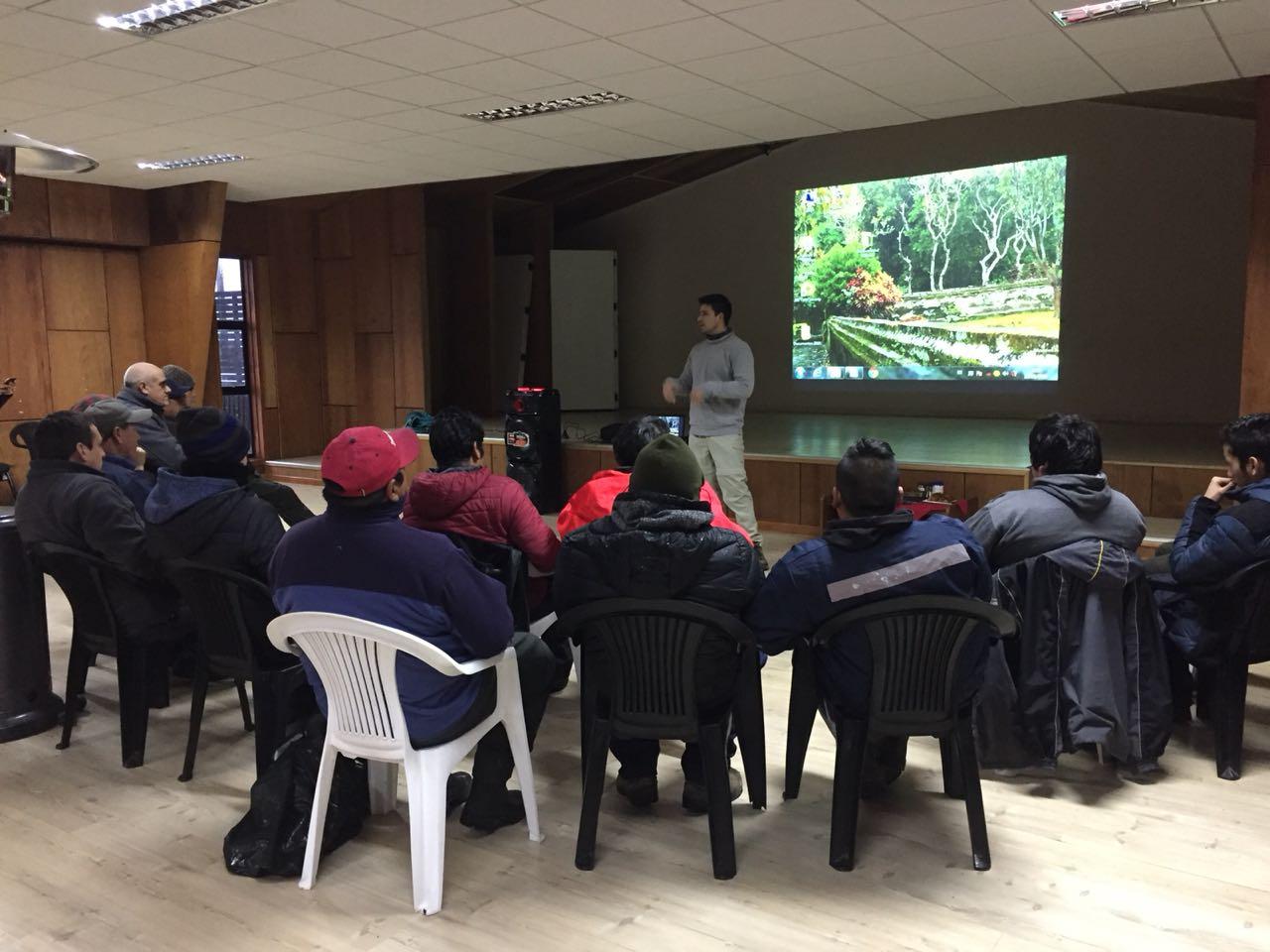 Taller Biodiversidad Operarios Municipales 2018