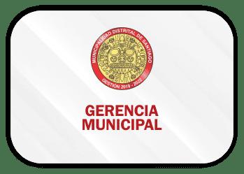gerencia municipal de santiago