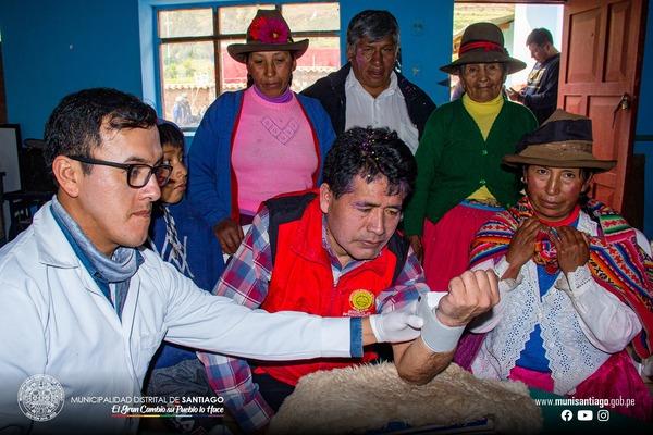CAMPAÑA DE SALUD POR EL 94 ANIVERSARIO DE LA COMUNIDAD DE CHECOPUCA