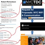 NYC Wi-Fi payphone project: conflicts of interest?