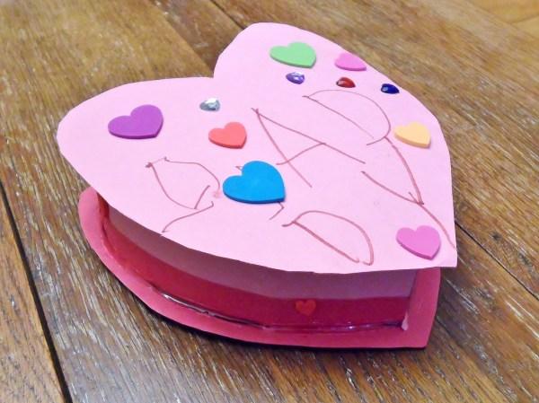 Homemade Heart Box